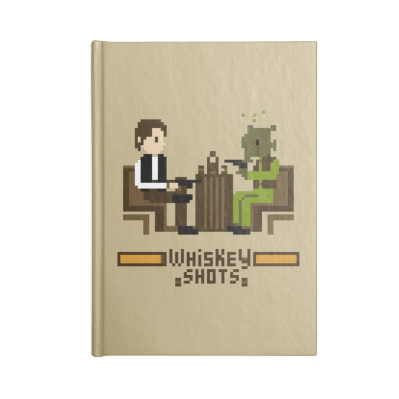 Whiskey Shots Accessories Notebook by Thomas Orrow