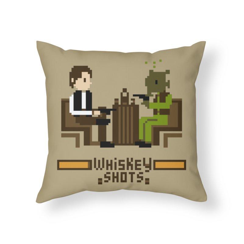 Whiskey Shots Home Throw Pillow by Thomas Orrow