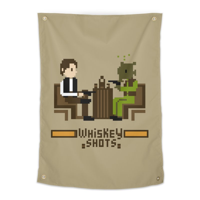 Whiskey Shots Home Tapestry by Thomas Orrow