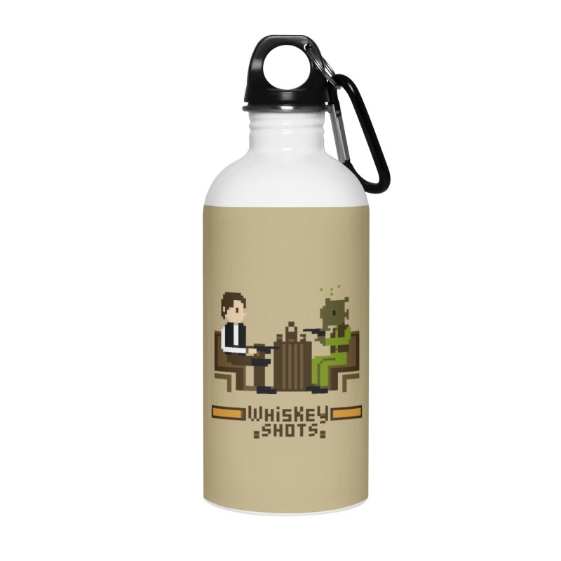 Whiskey Shots Accessories Water Bottle by Thomas Orrow