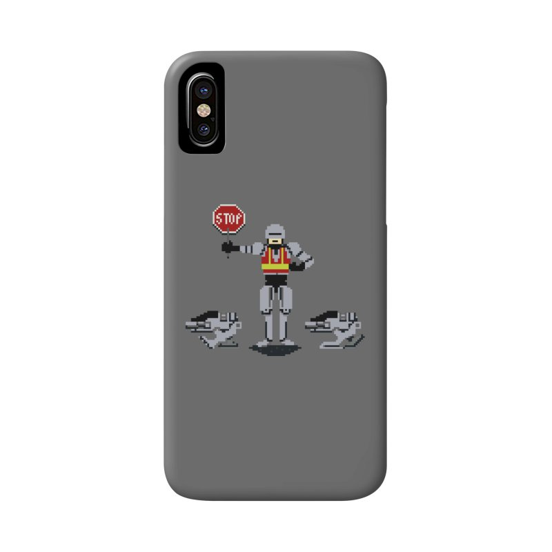 Traffic Safety Officer Accessories Phone Case by Thomas Orrow
