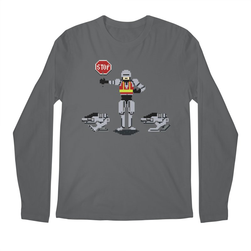 Traffic Safety Officer Men's Longsleeve T-Shirt by Thomas Orrow
