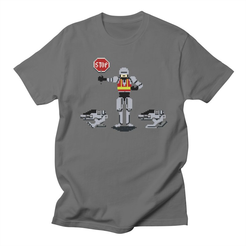Traffic Safety Officer Men's T-shirt by Thomas Orrow
