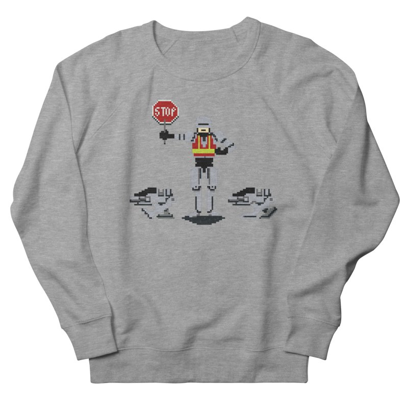 Traffic Safety Officer Men's Sweatshirt by Thomas Orrow