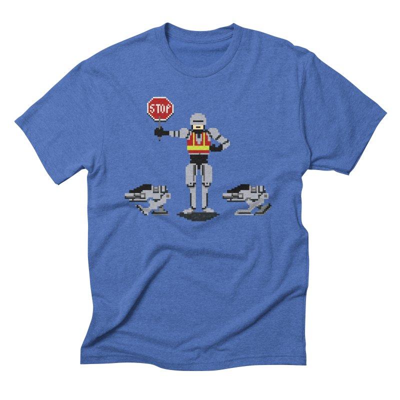 Traffic Cop Men's Triblend T-Shirt by Thomas Orrow