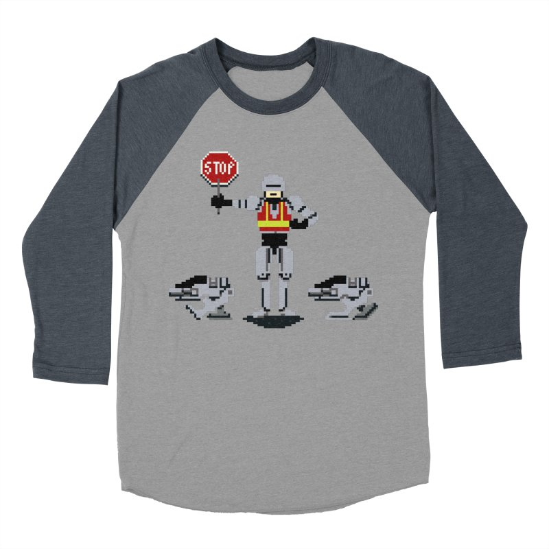 Traffic Cop Women's Baseball Triblend Longsleeve T-Shirt by Thomas Orrow