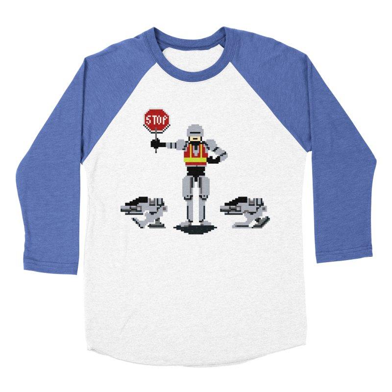 Traffic Safety Officer Men's Baseball Triblend T-Shirt by Thomas Orrow