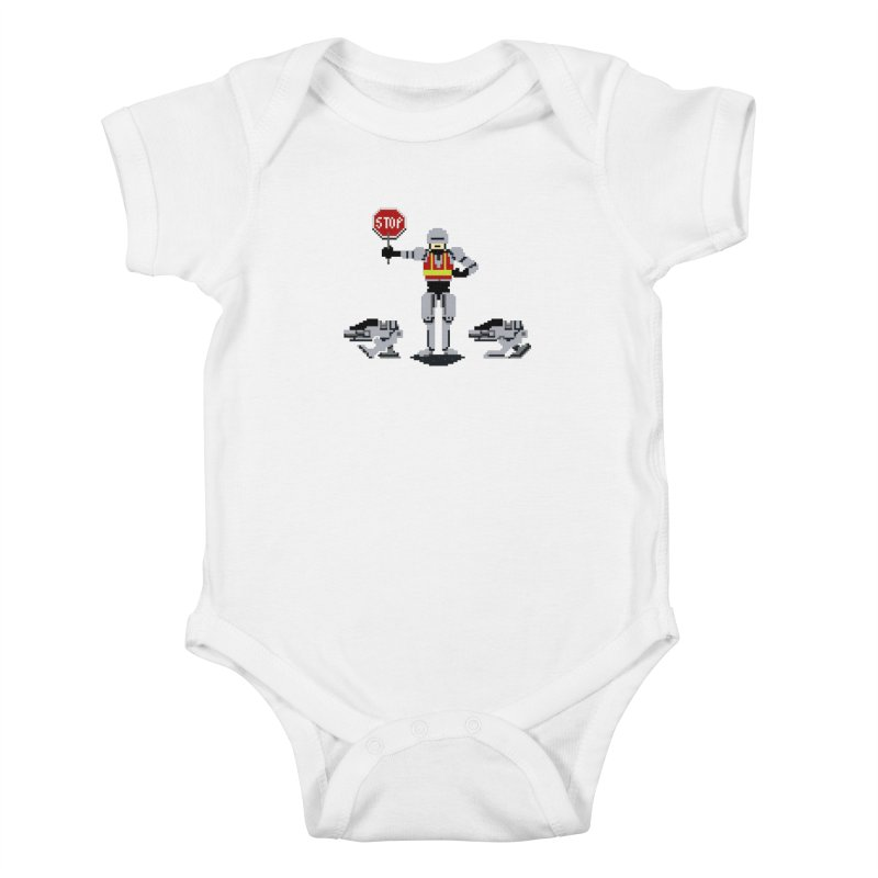 Traffic Safety Officer Kids Baby Bodysuit by Thomas Orrow