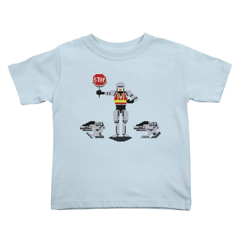 Traffic Safety Officer Kids Toddler T-Shirt by Thomas Orrow