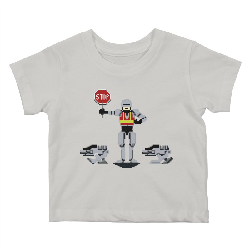 Traffic Cop Kids Baby T-Shirt by Thomas Orrow