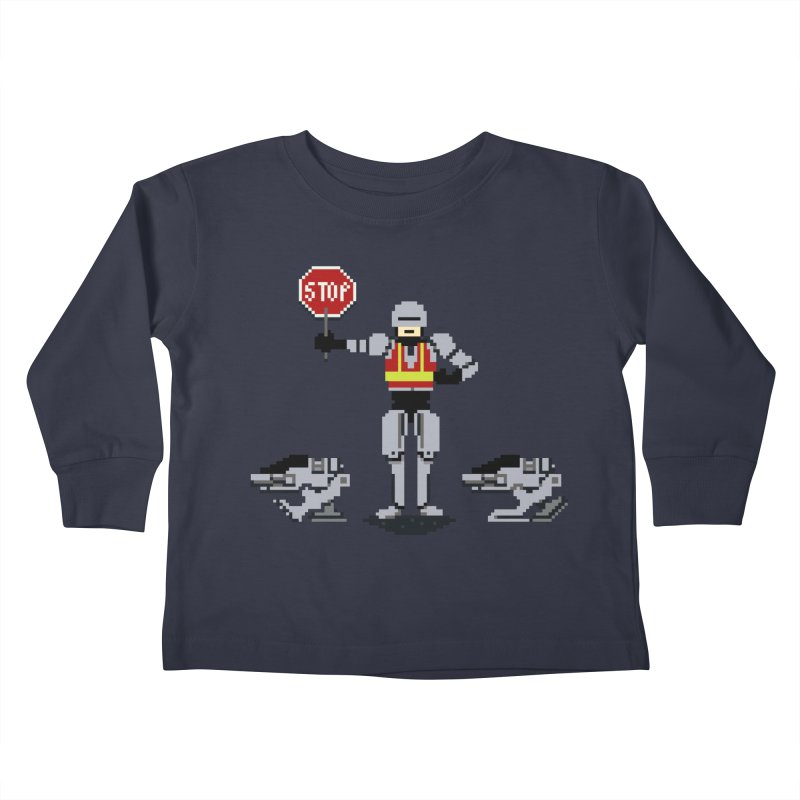Traffic Safety Officer Kids Toddler Longsleeve T-Shirt by Thomas Orrow