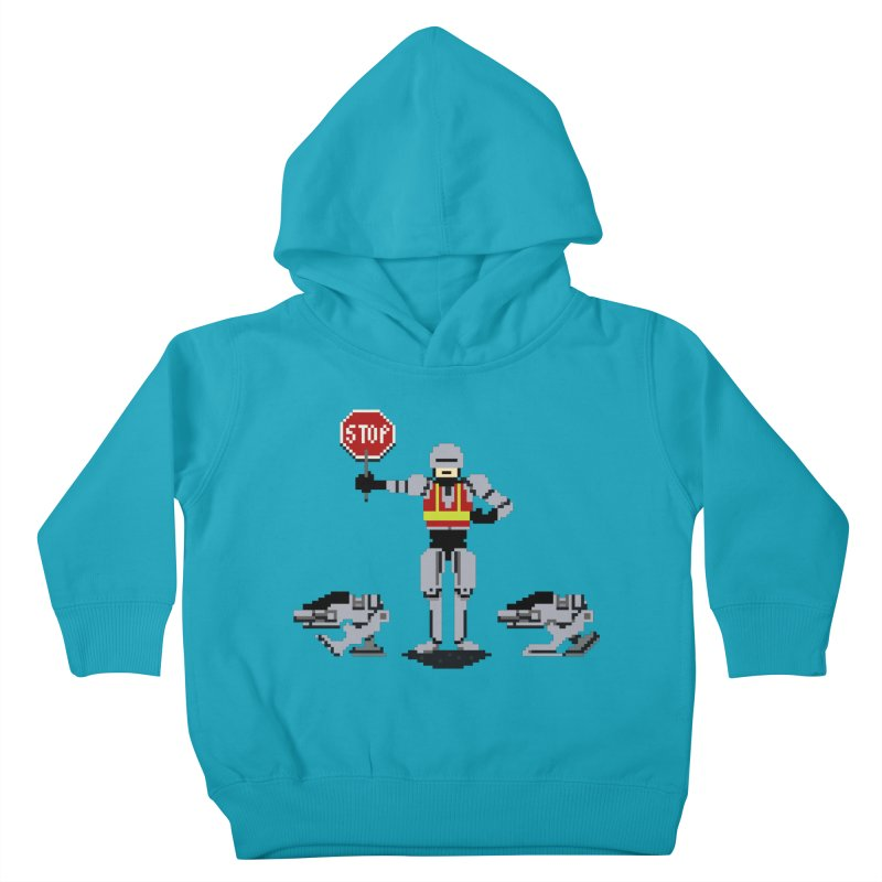 Traffic Cop Kids Toddler Pullover Hoody by Thomas Orrow