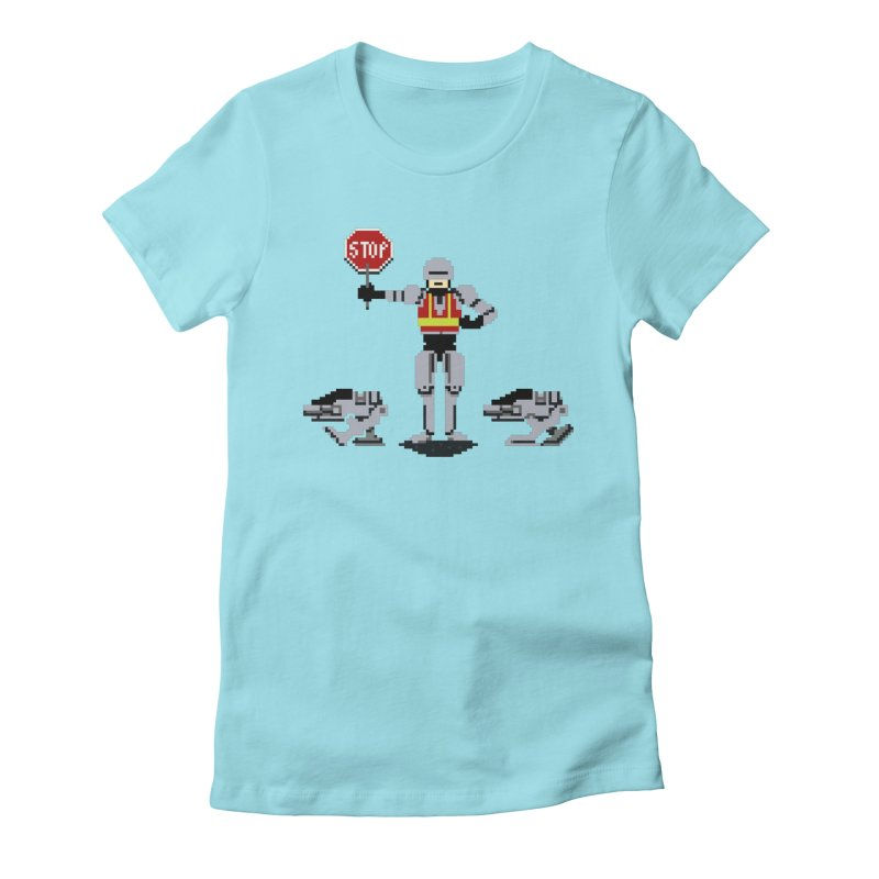 Traffic Safety Officer Women's Fitted T-Shirt by Thomas Orrow