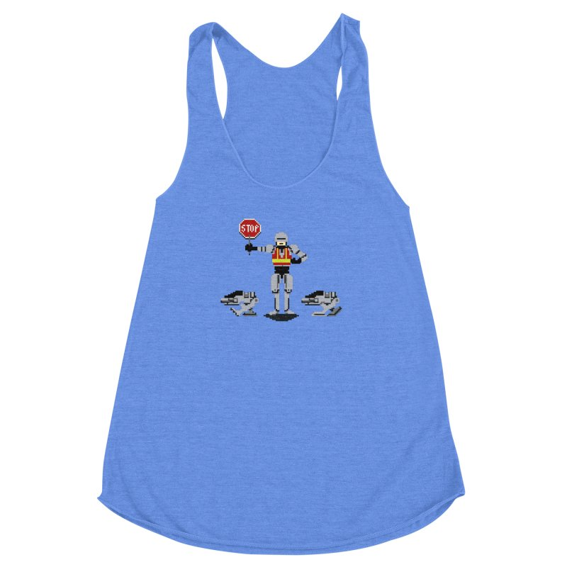 Traffic Safety Officer Women's Racerback Triblend Tank by Thomas Orrow