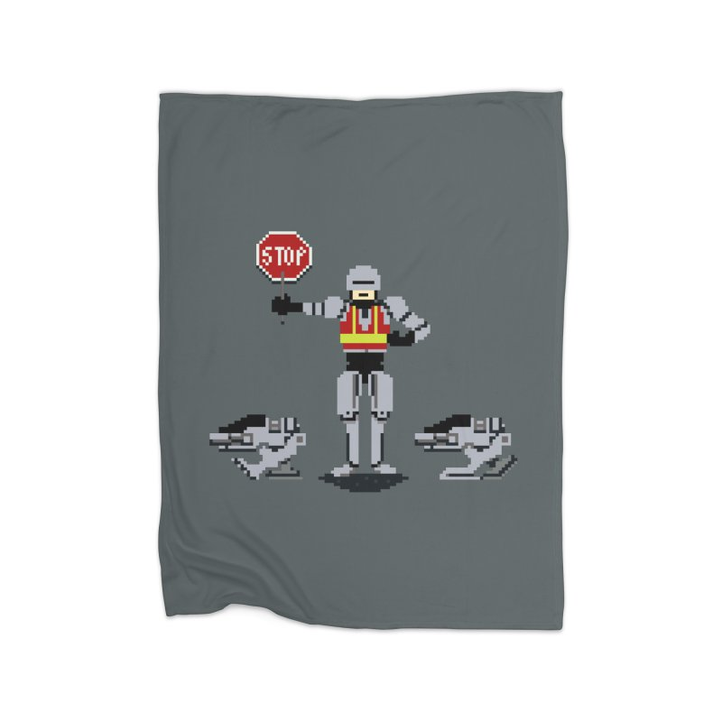 Traffic Cop Home Blanket by Thomas Orrow