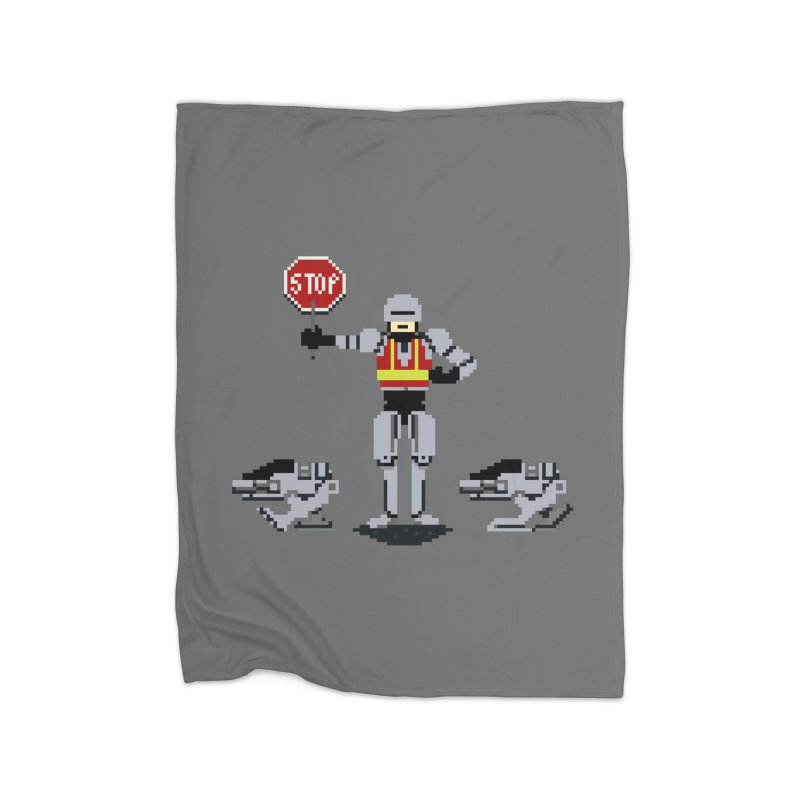 Traffic Safety Officer Home Blanket by Thomas Orrow