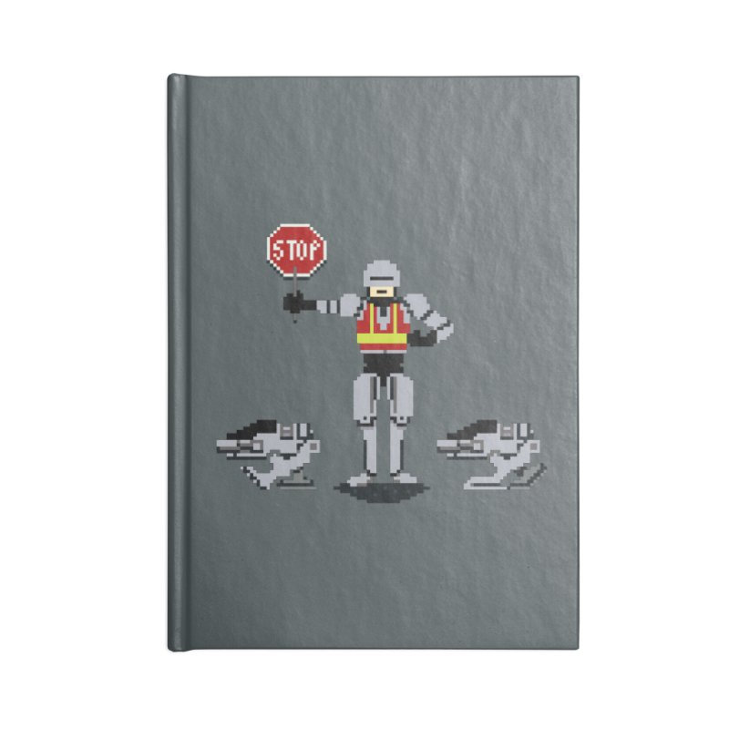 Traffic Cop Accessories Notebook by Thomas Orrow