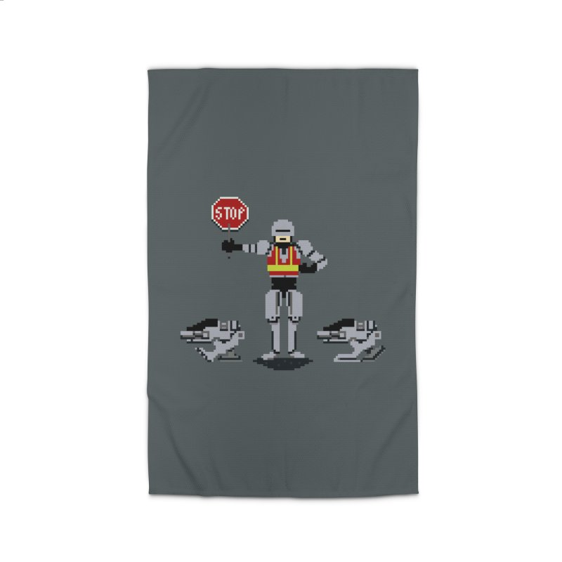 Traffic Cop Home Rug by Thomas Orrow