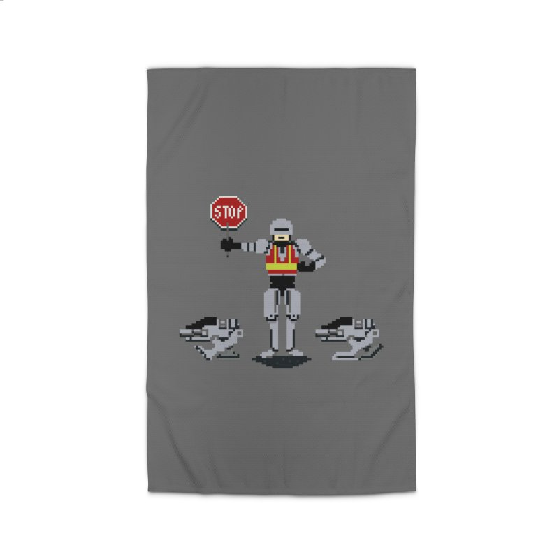 Traffic Safety Officer Home Rug by Thomas Orrow
