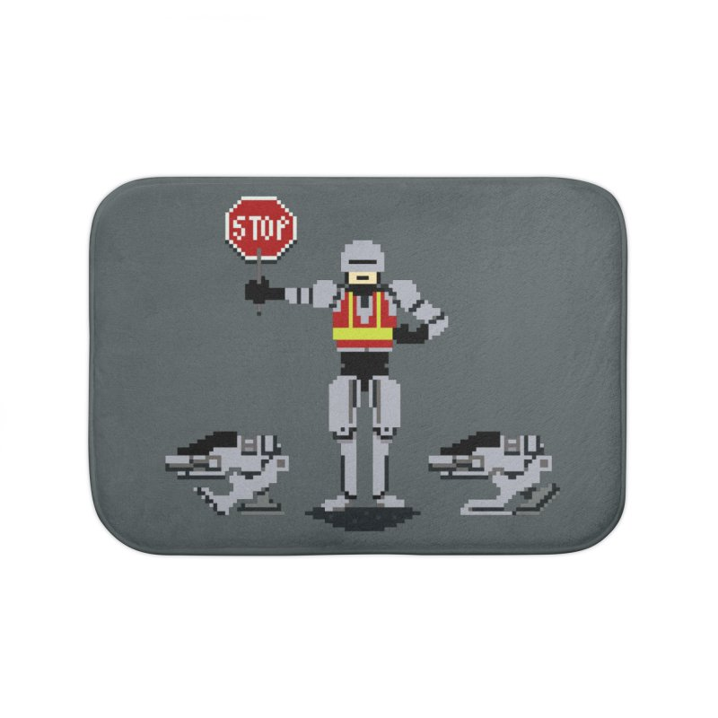 Traffic Cop Home Bath Mat by Thomas Orrow