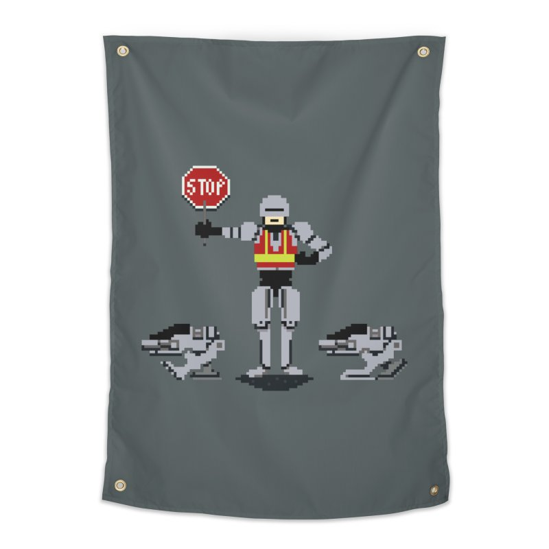 Traffic Cop Home Tapestry by Thomas Orrow