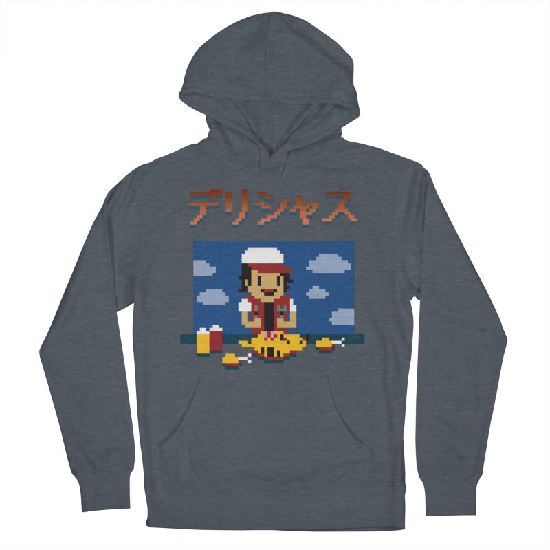 Gotta Eat 'Em All Men's French Terry Pullover Hoody by Thomas Orrow