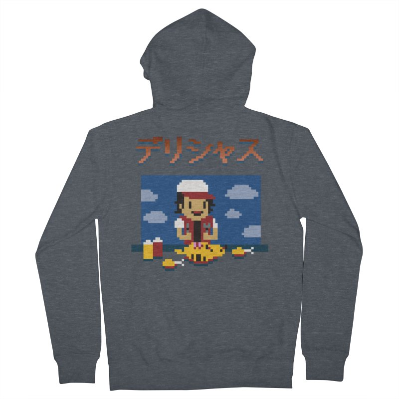 Gotta Eat 'Em All Men's Zip-Up Hoody by Thomas Orrow