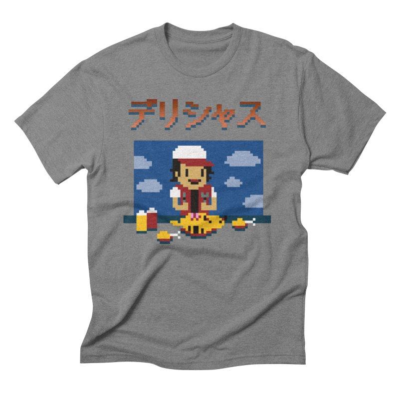 Gotta Eat 'Em All Men's Triblend T-Shirt by Thomas Orrow