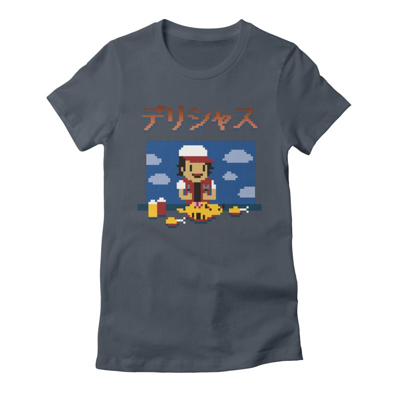 Gotta Eat 'Em All Women's Fitted T-Shirt by Thomas Orrow