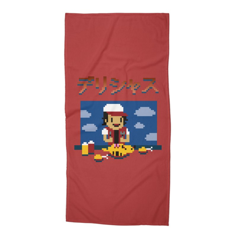 Gotta Eat 'Em All Accessories Beach Towel by Thomas Orrow