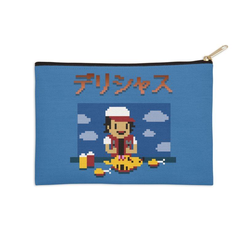 Gotta Eat 'Em All Accessories Zip Pouch by Thomas Orrow