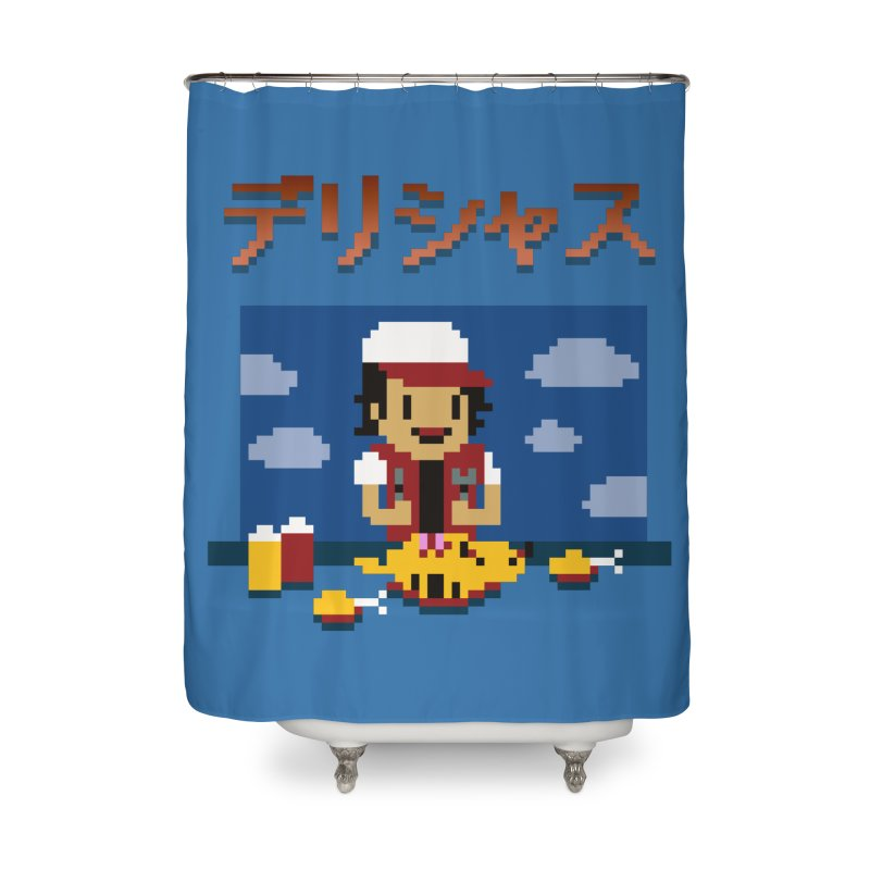 Gotta Eat 'Em All Home Shower Curtain by Thomas Orrow