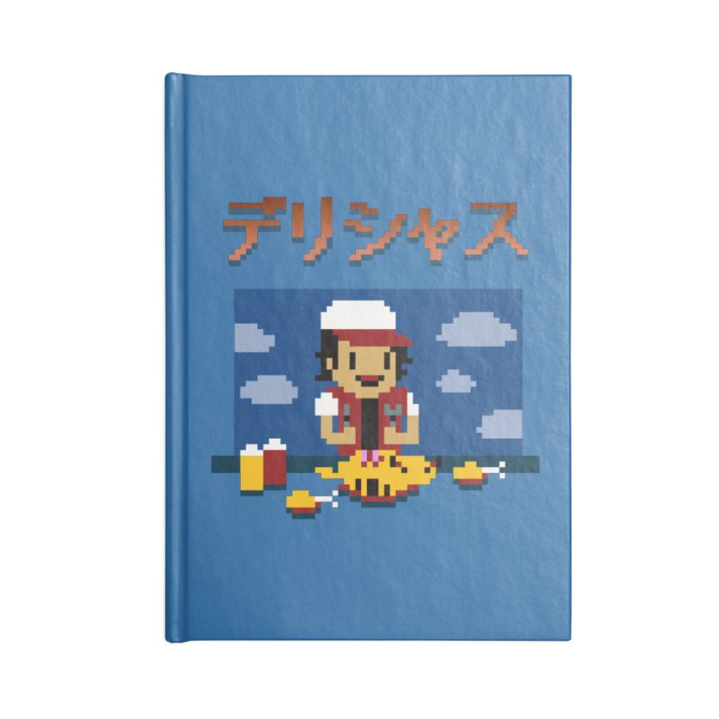 Gotta Eat 'Em All Accessories Notebook by Thomas Orrow