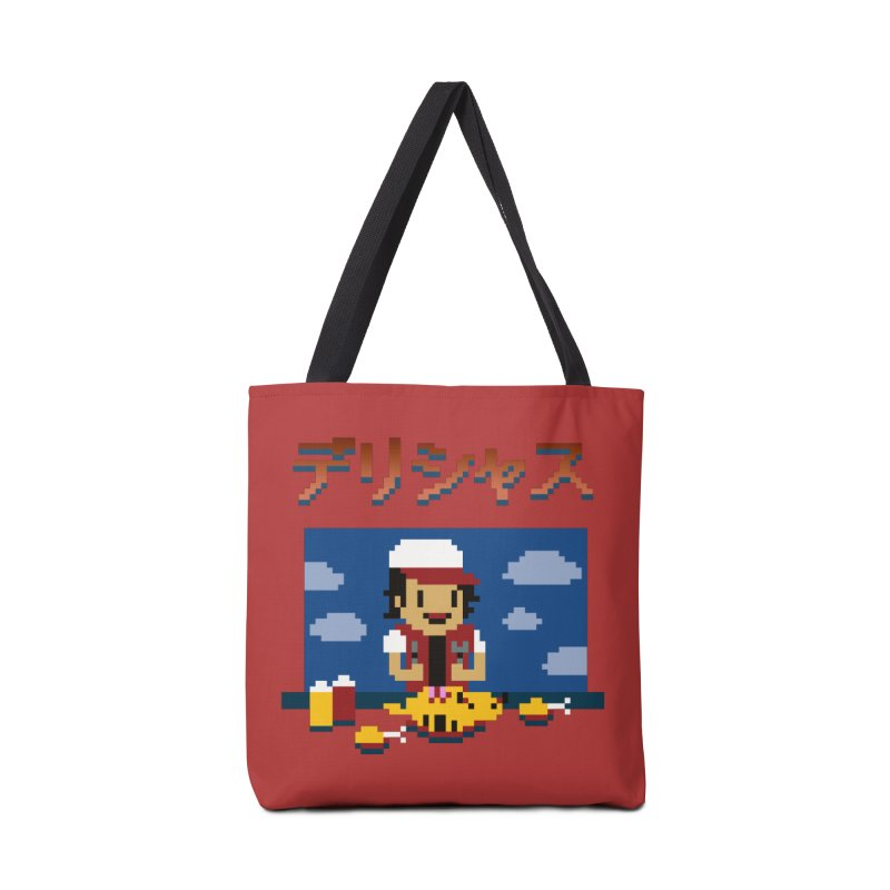 Gotta Eat 'Em All Accessories Bag by Thomas Orrow