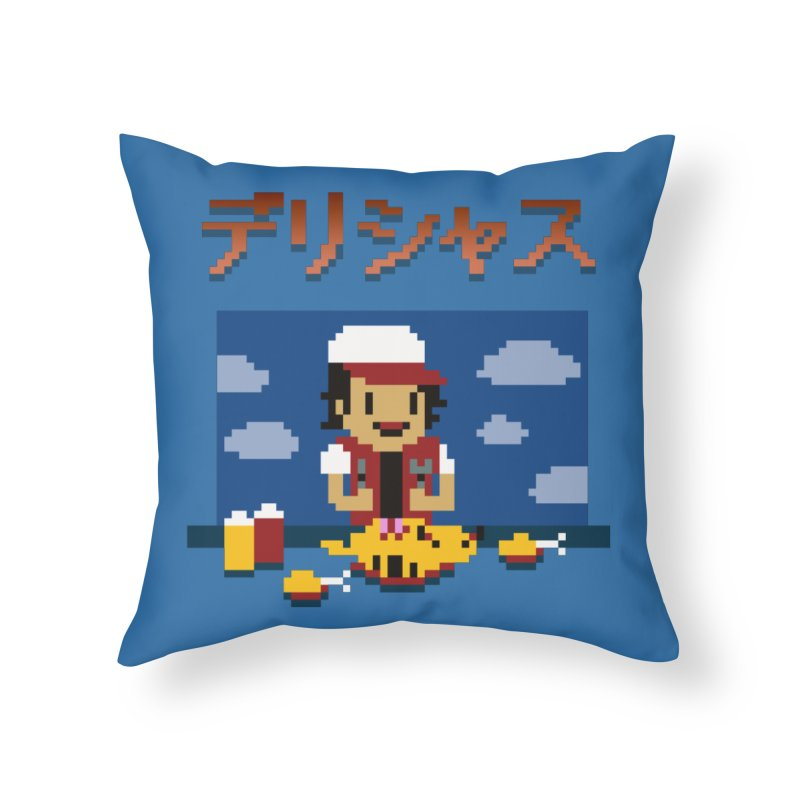 Gotta Eat 'Em All Home Throw Pillow by Thomas Orrow