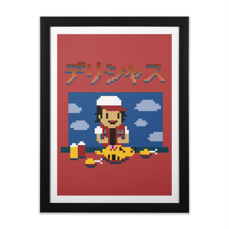 Gotta Eat 'Em All Home Framed Fine Art Print by Thomas Orrow
