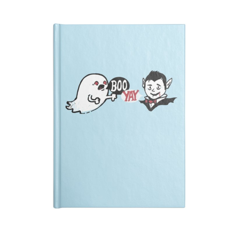 Boo and Yay Accessories Notebook by Thomas Orrow