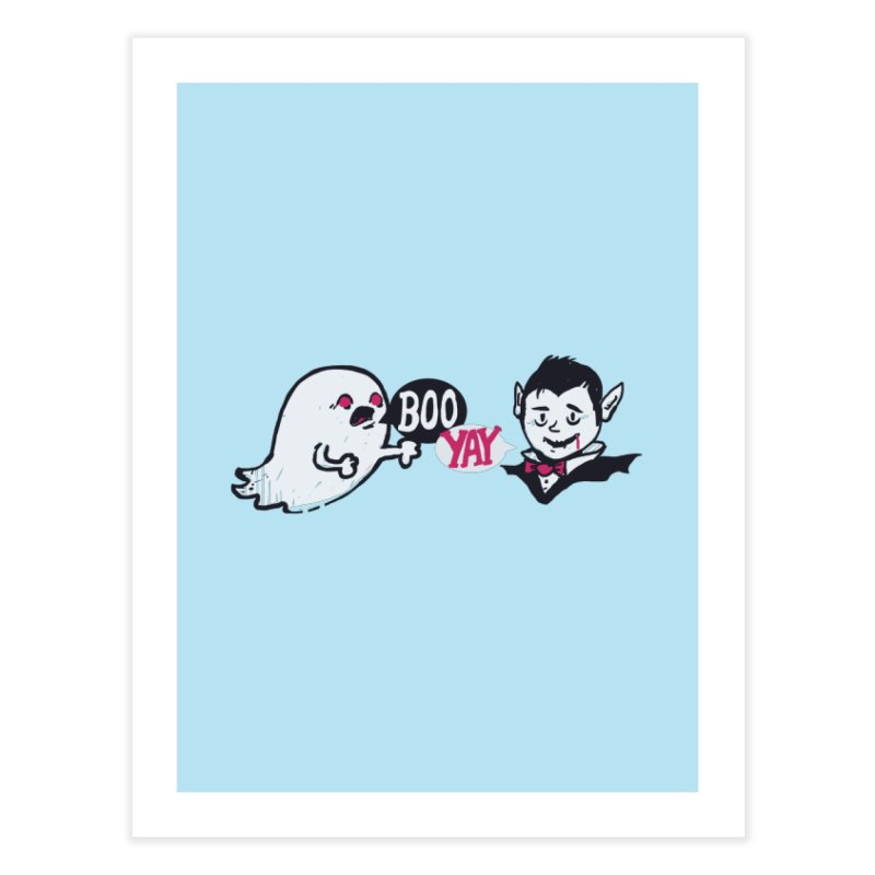 Boo and Yay Home Fine Art Print by Thomas Orrow