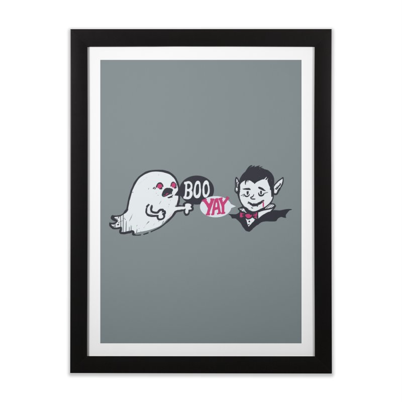 Boo and Yay Home Framed Fine Art Print by Thomas Orrow