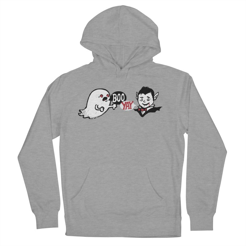 Boo and Yay Men's French Terry Pullover Hoody by Thomas Orrow