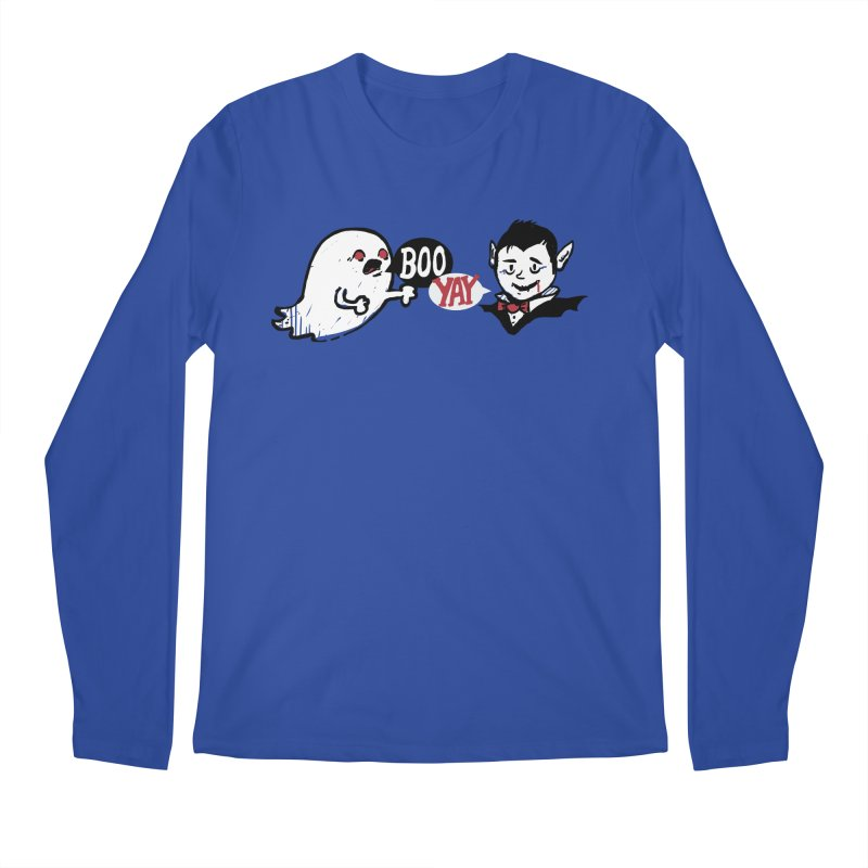 Boo and Yay Men's Longsleeve T-Shirt by Thomas Orrow