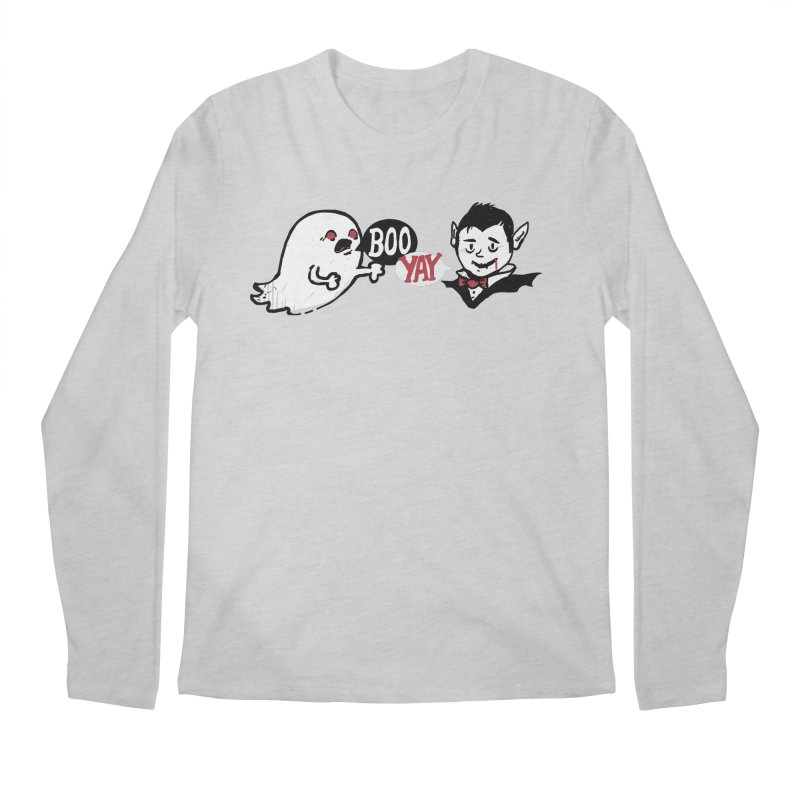 Boo and Yay Men's Regular Longsleeve T-Shirt by Thomas Orrow