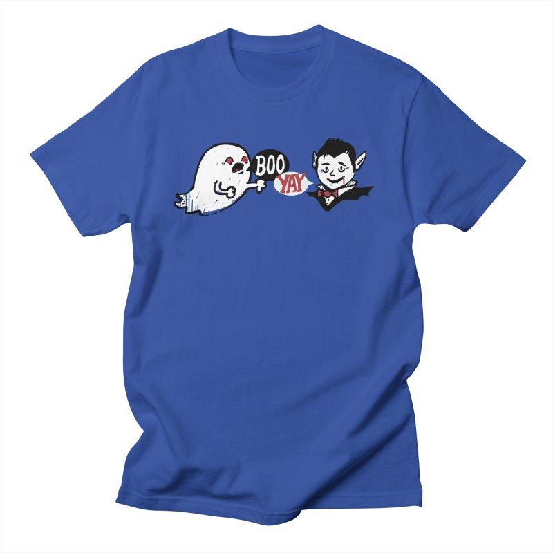 Boo and Yay Men's T-shirt by Thomas Orrow