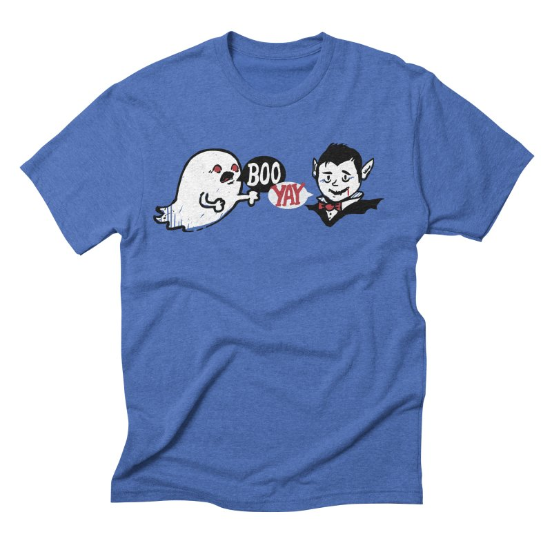 Boo and Yay Men's Triblend T-shirt by Thomas Orrow