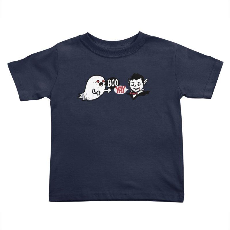 Boo and Yay Kids Toddler T-Shirt by Thomas Orrow