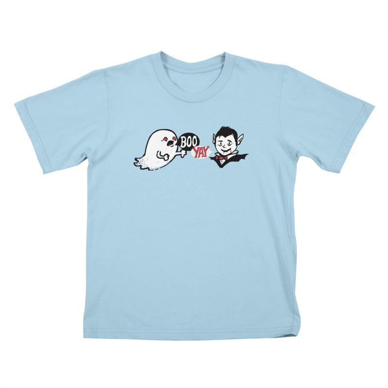 Boo and Yay Kids T-Shirt by Thomas Orrow