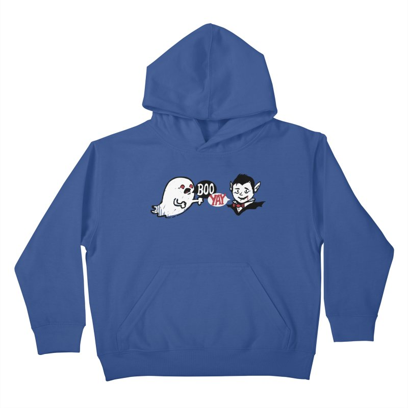 Boo and Yay Kids Pullover Hoody by Thomas Orrow