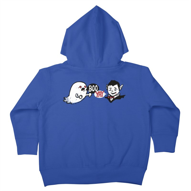Boo and Yay Kids Toddler Zip-Up Hoody by Thomas Orrow