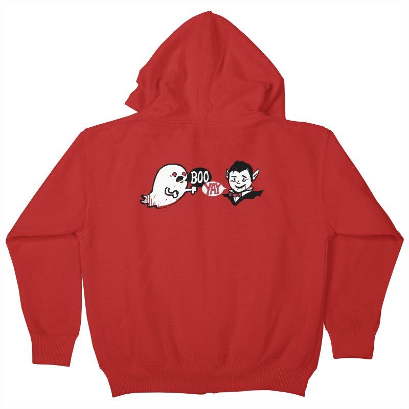 Boo and Yay Kids Zip-Up Hoody by Thomas Orrow
