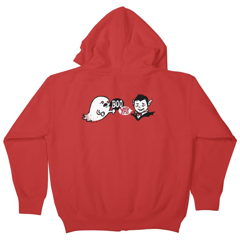 Boo and Yay Kids Zip-Up Hoody by Thomas Orrow